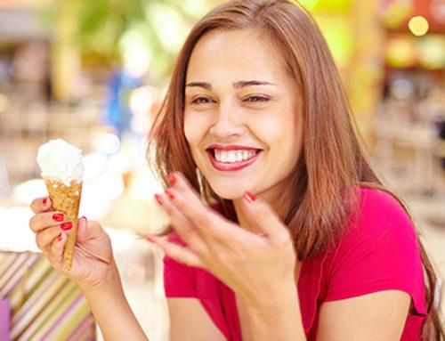El helado sí da la felicidad